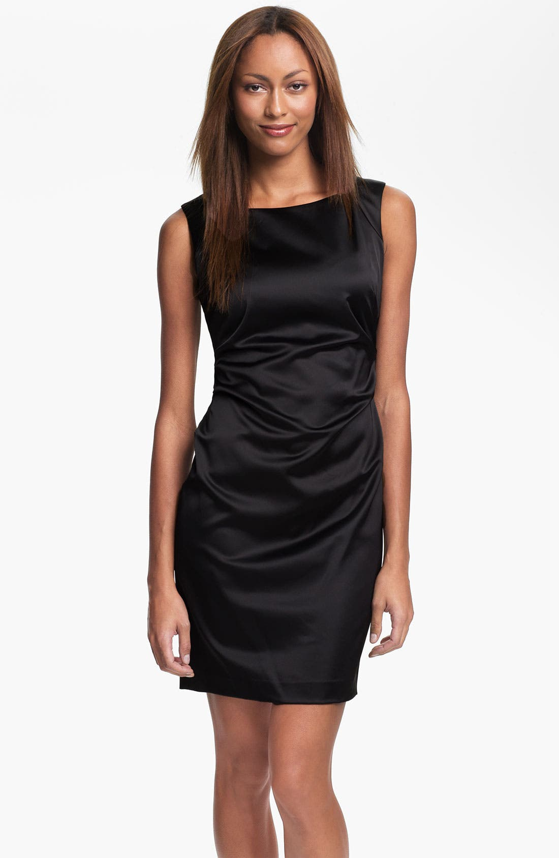 Main Image - Marc New York by Andrew Marc Sleeveless Satin Dress