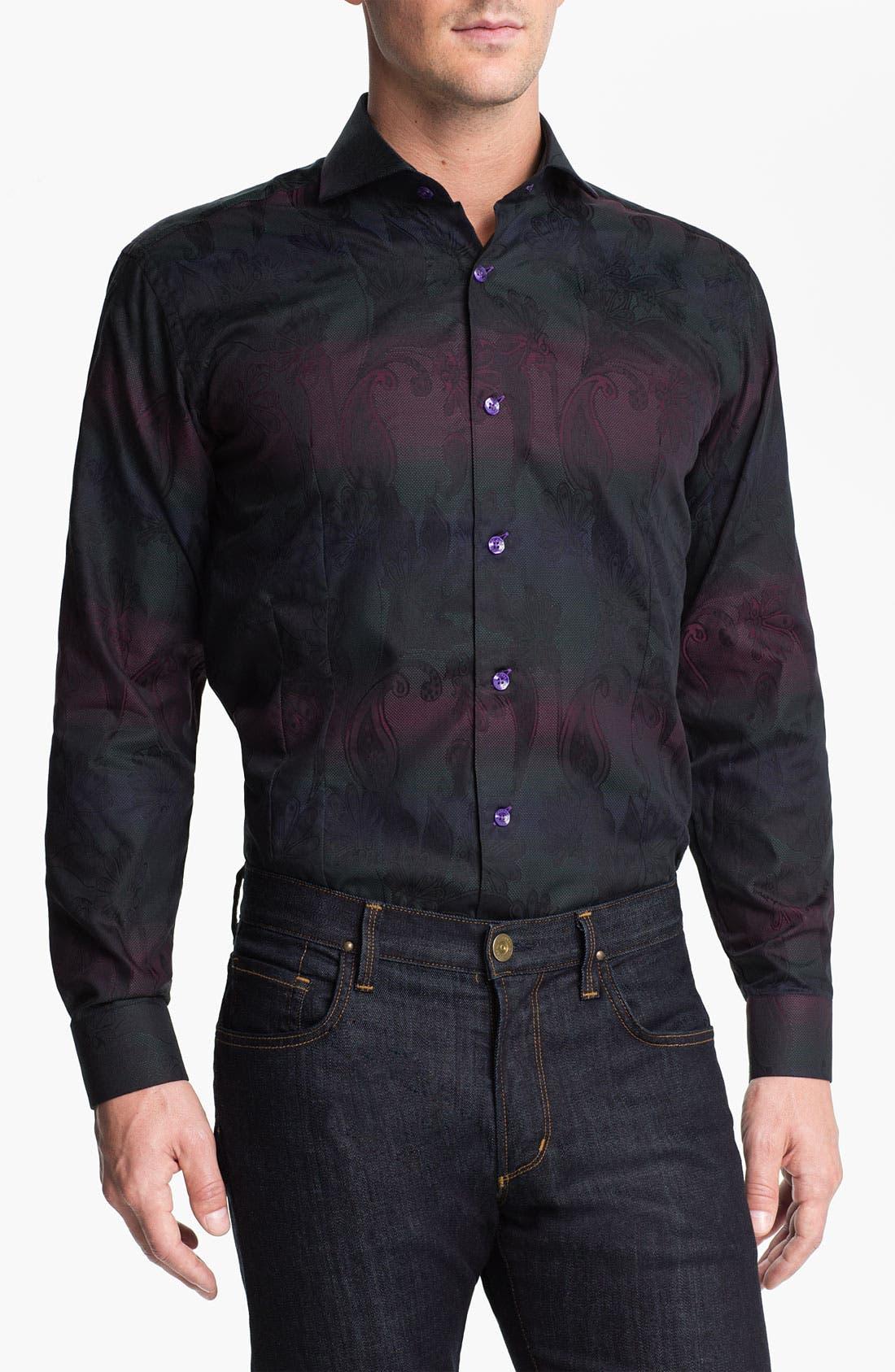 Alternate Image 1 Selected - Bogosse 'Kaz 89' Trim Fit Sport Shirt