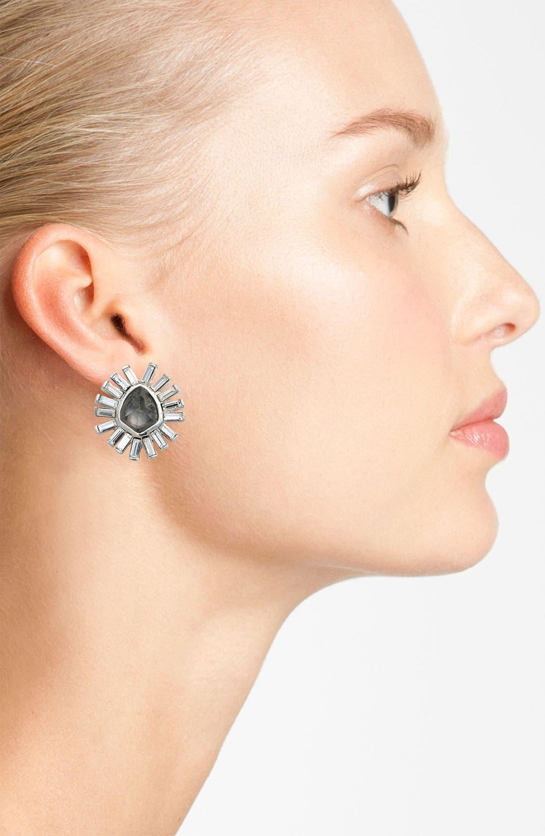 Alternate Image 2  - Alexis Bittar 'Miss Havisham - Bel Air' Starburst Stud Earrings