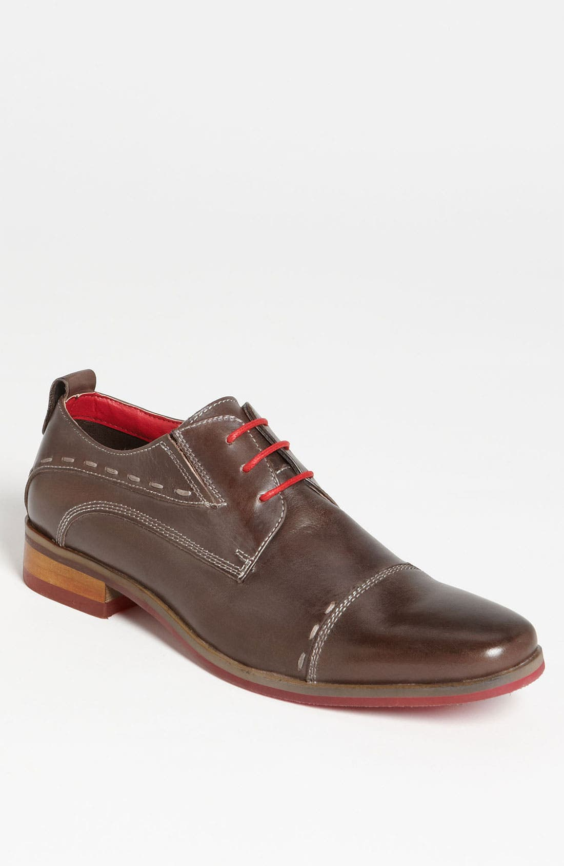 Alternate Image 1 Selected - Steve Madden 'Cappo' Cap Toe Derby (Online Only)