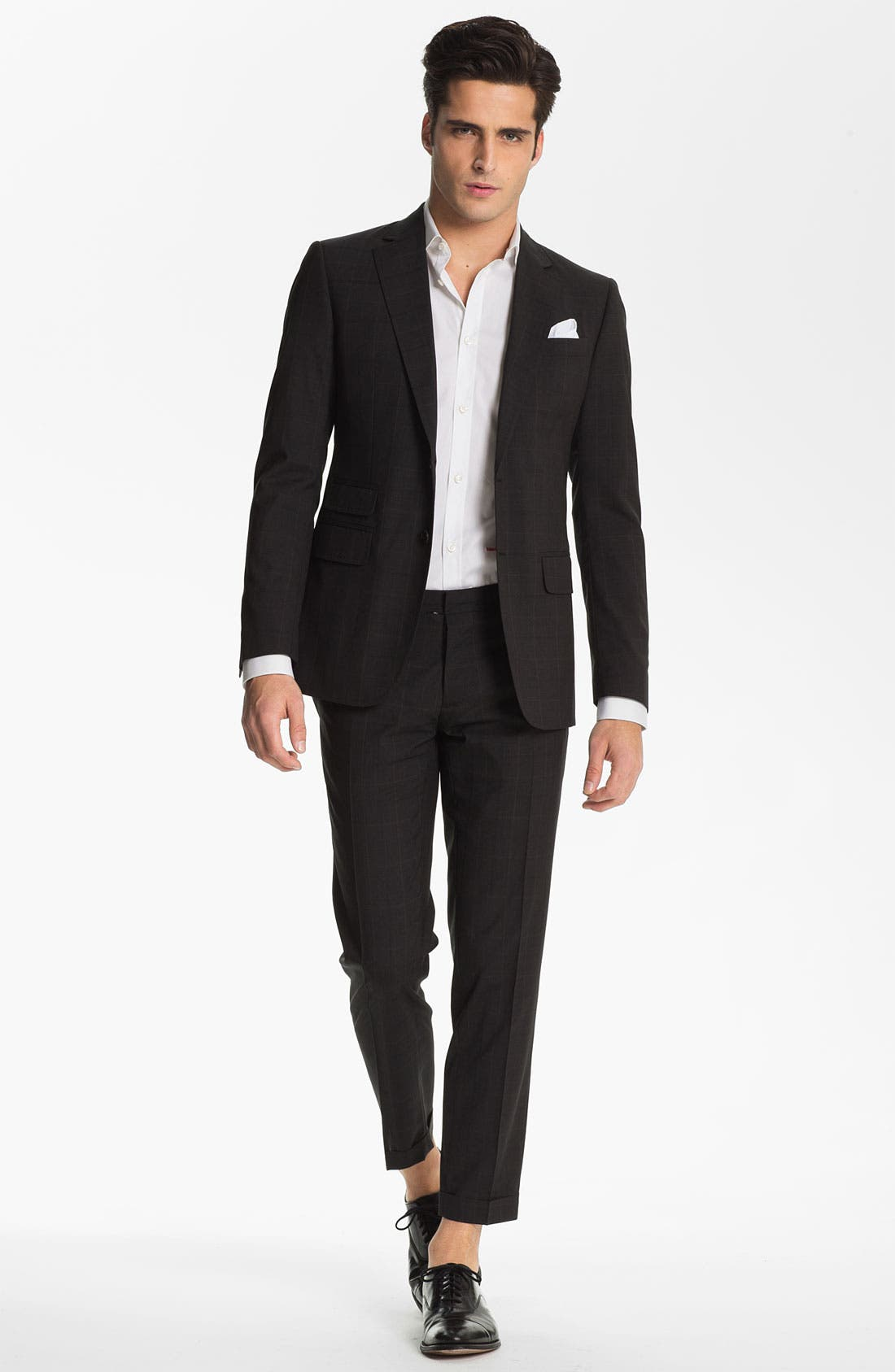 Alternate Image 2  - Dsquared2 Check Virgin Wool Suit