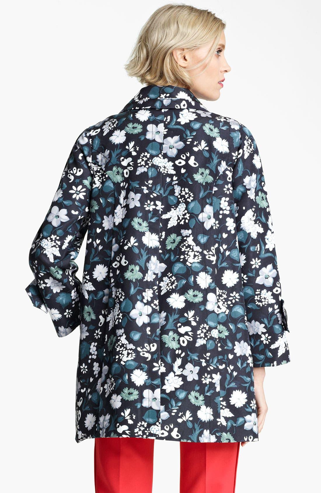 Alternate Image 2  - MARC JACOBS Flower & Butterfly Print Coat