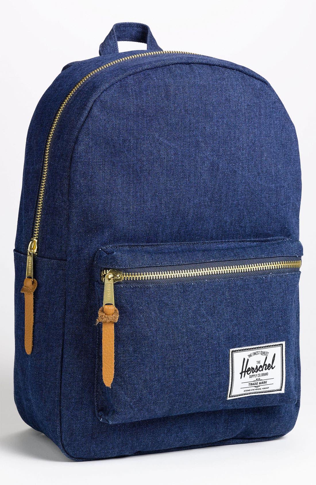 Alternate Image 1 Selected - Herschel Supply Co. 'Settlement - Denim Collection' Backpack
