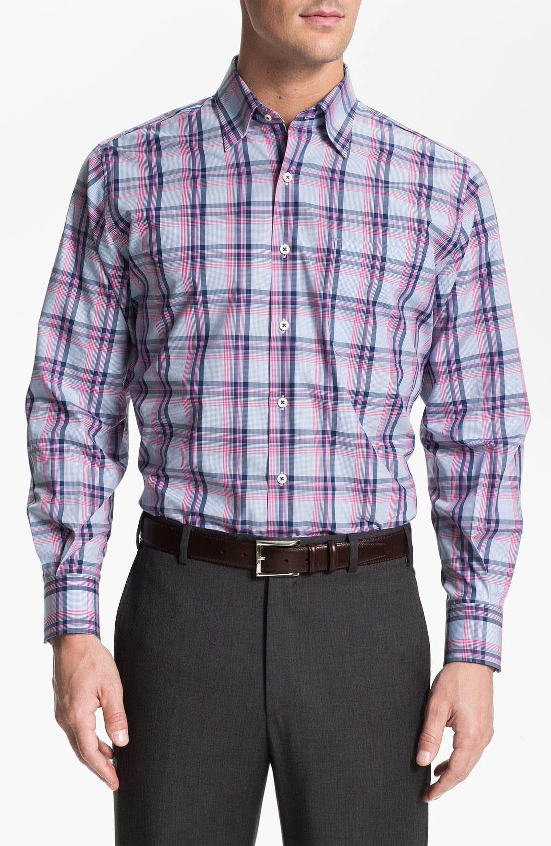 Alternate Image 1 Selected - Peter Millar Regular Fit Sport Shirt