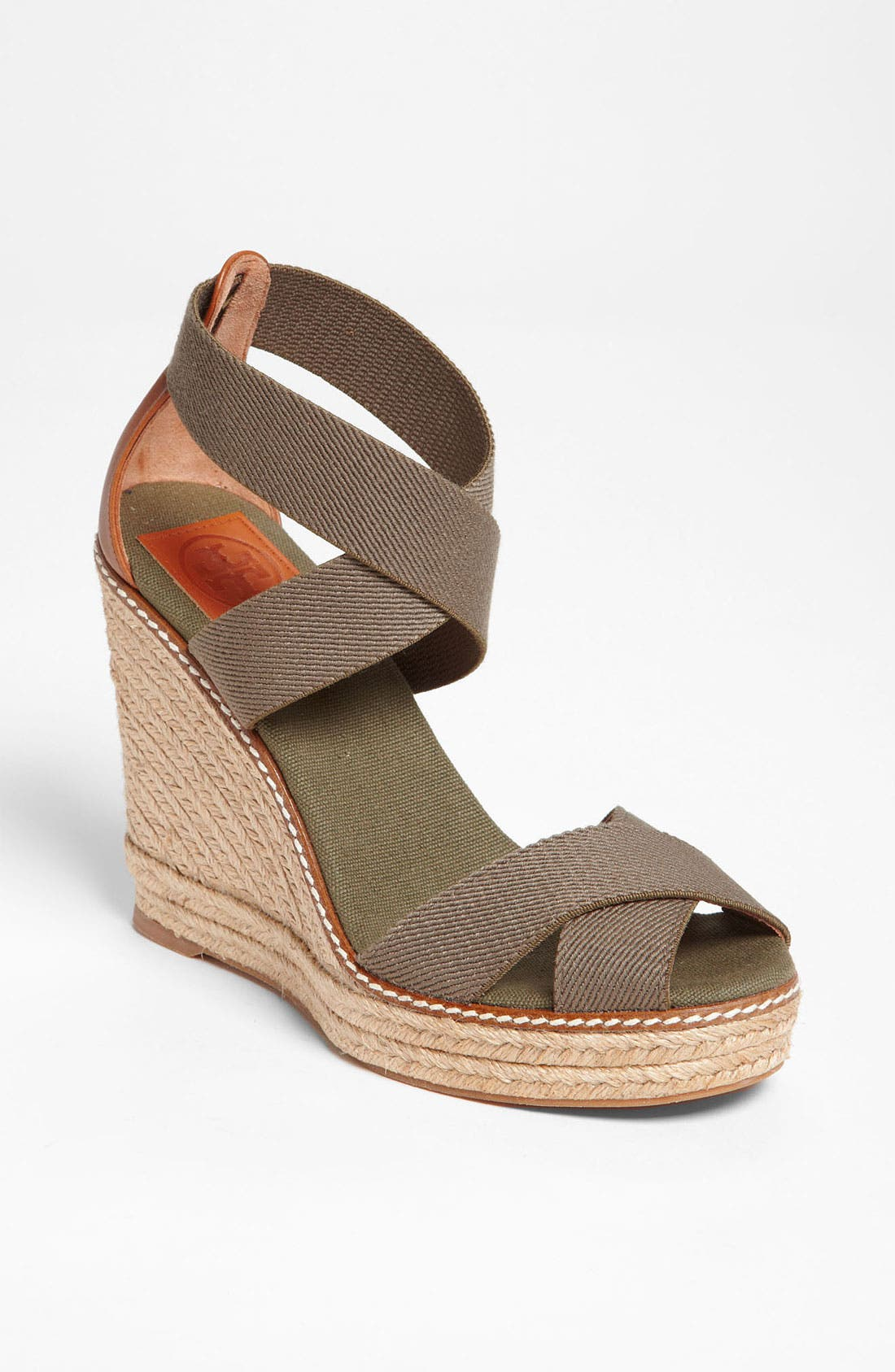 Main Image - Tory Burch 'Adonis' Wedge Espadrille