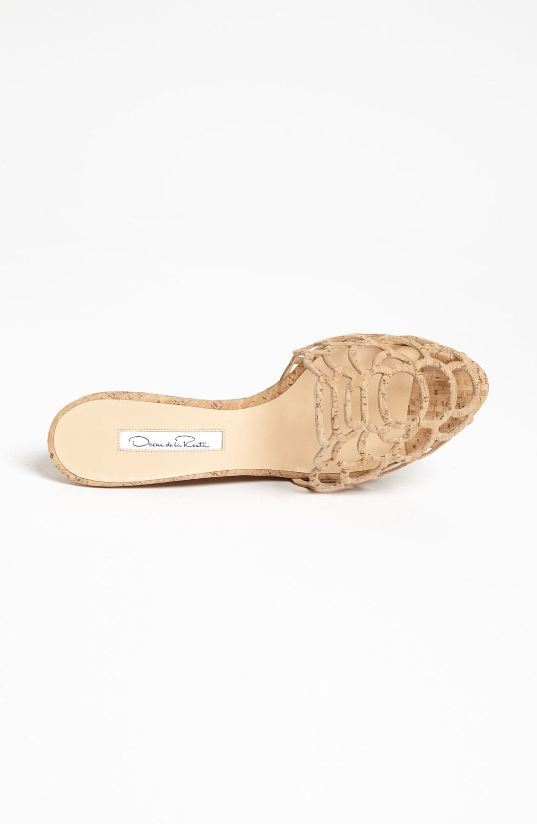 Alternate Image 3  - Oscar de la Renta 'Virma' Cork Sandal
