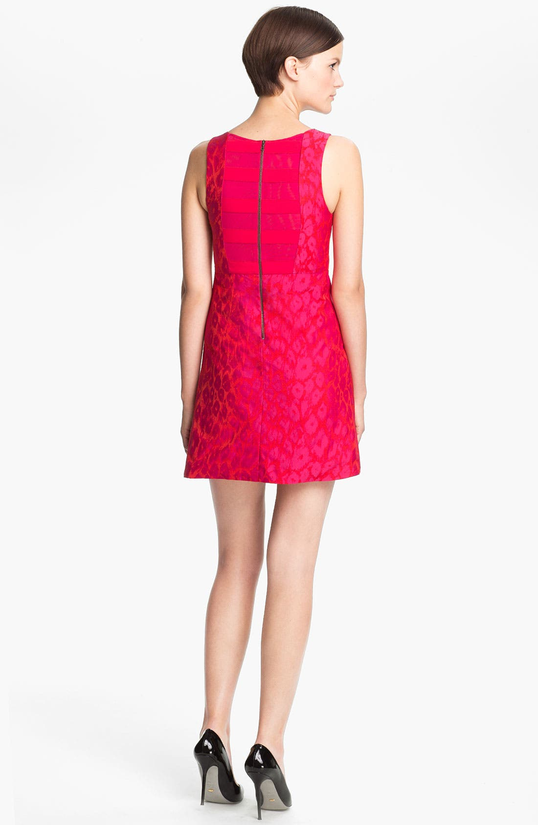 Alternate Image 2  - Alice + Olivia 'Marlene' A-Line Dress