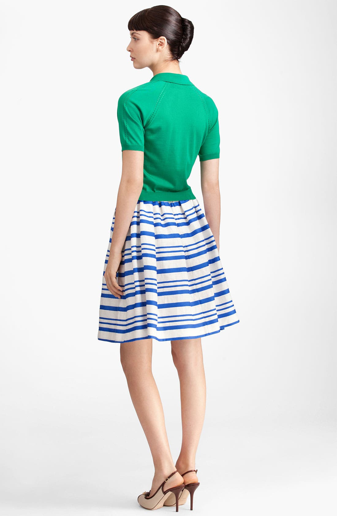 Alternate Image 2  - Dolce&Gabbana Silk Knit Polo