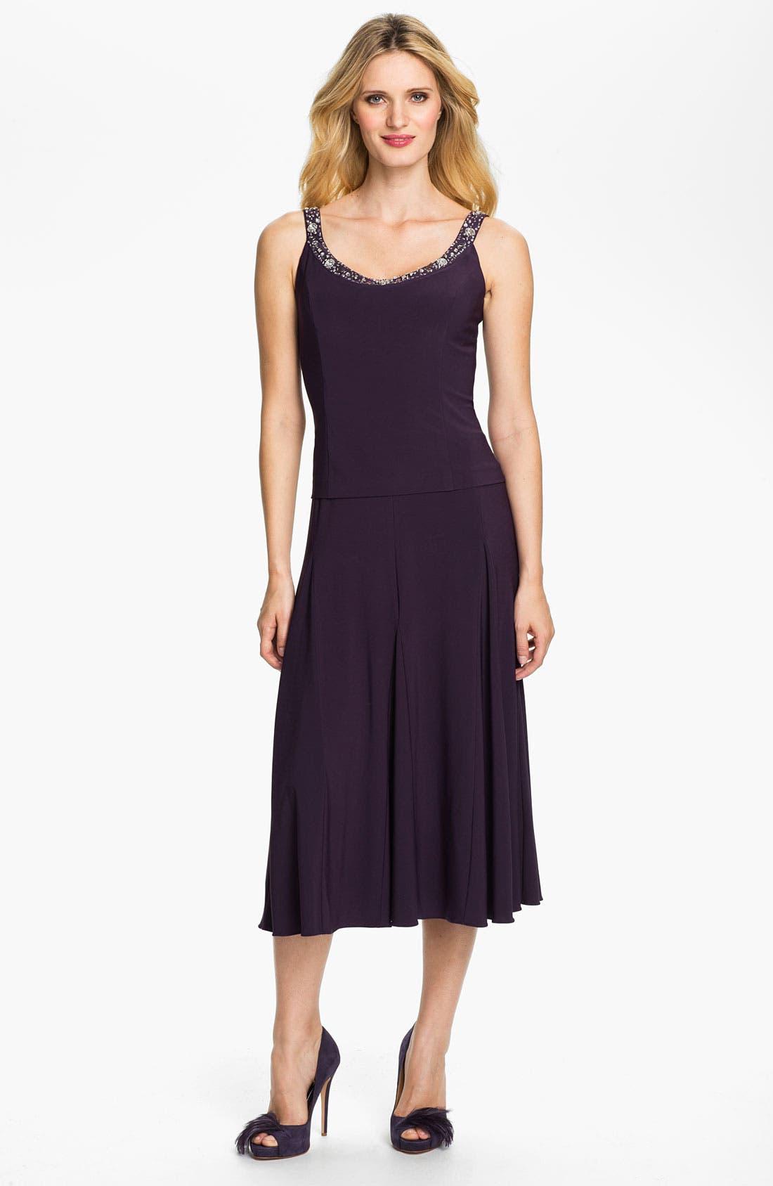 Alternate Image 4  - Alex Evenings Beaded Jersey Dress & Jacket