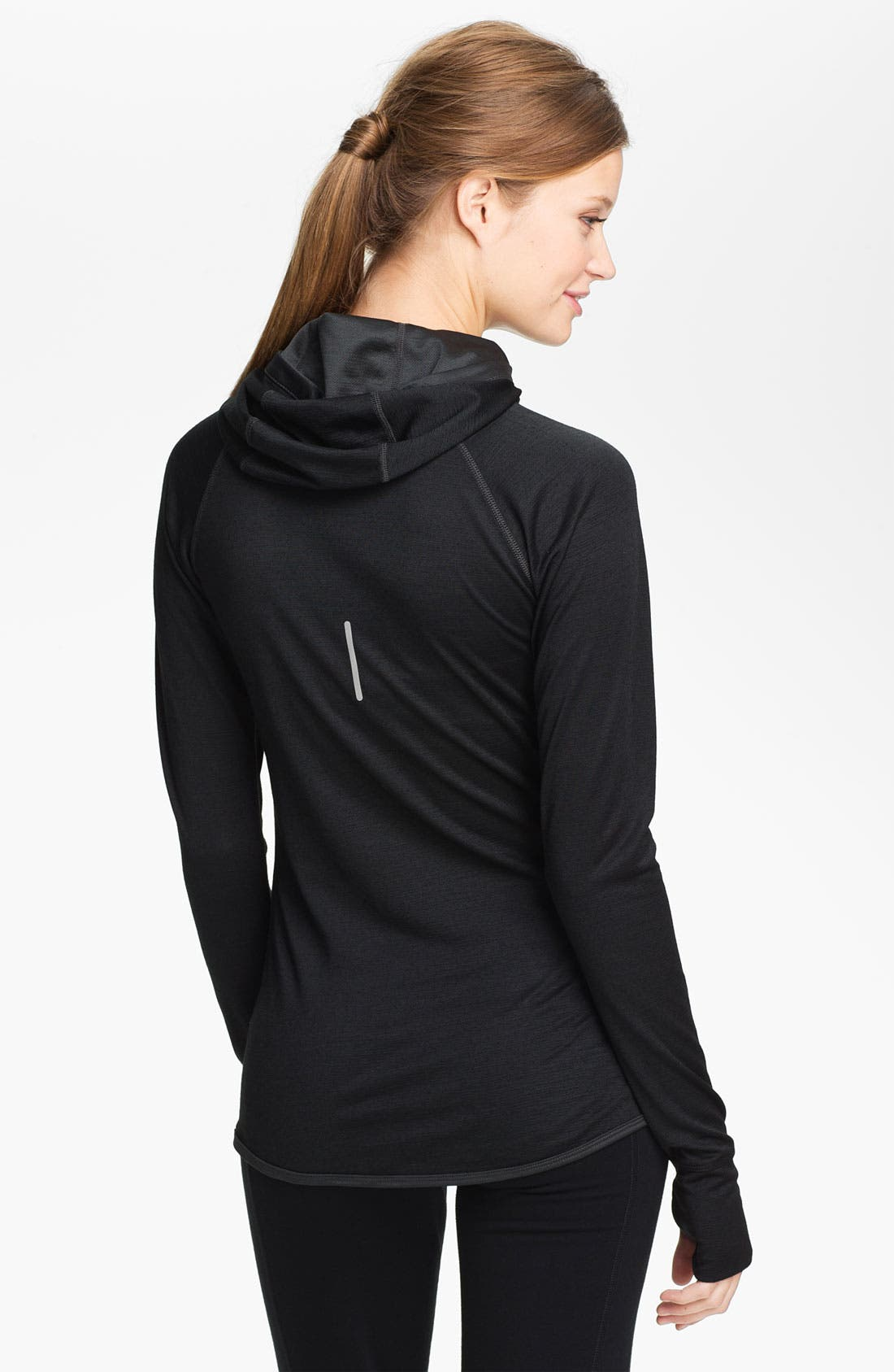 Alternate Image 2  - Nike Wool Blend Dri-FIT Running Hoodie