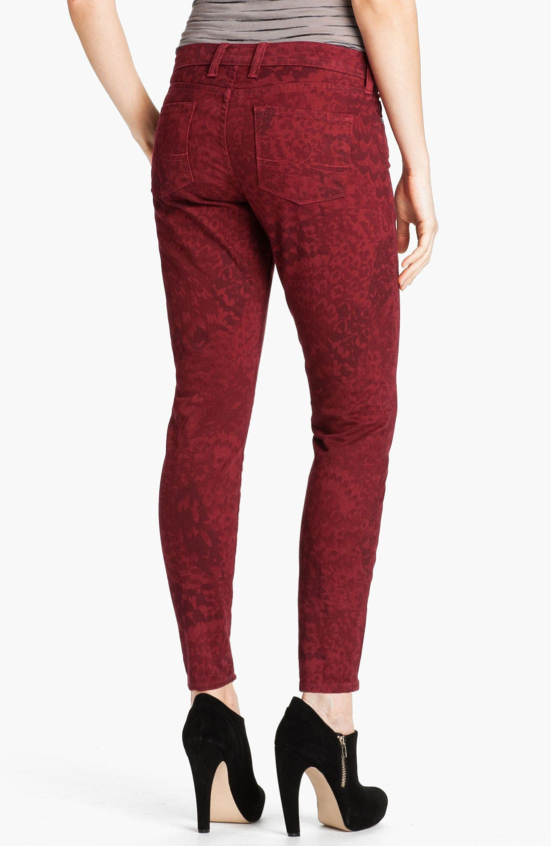 Alternate Image 2  - Lucky Brand 'Legend Sofia' Skinny Print Jeans (Online Exclusive)