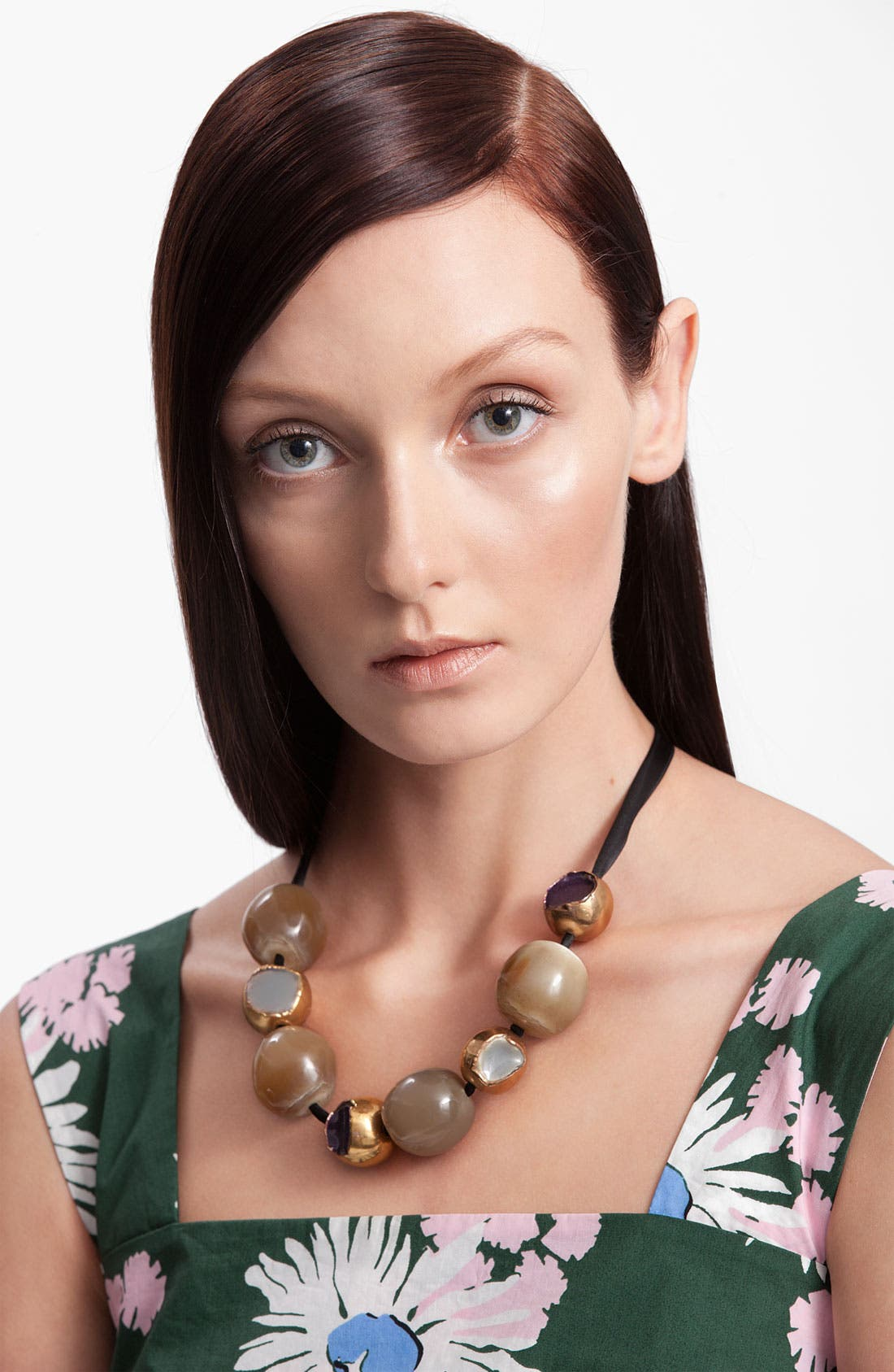 Alternate Image 1 Selected - Marni Horn & Resin Necklace