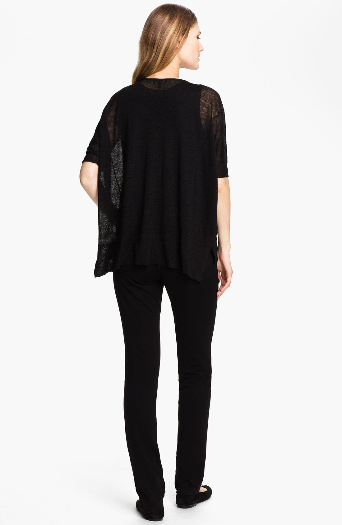 Alternate Image 2  - Eileen Fisher Organic Stretch Cotton Twill Ankle Pants (Regular & Petite)