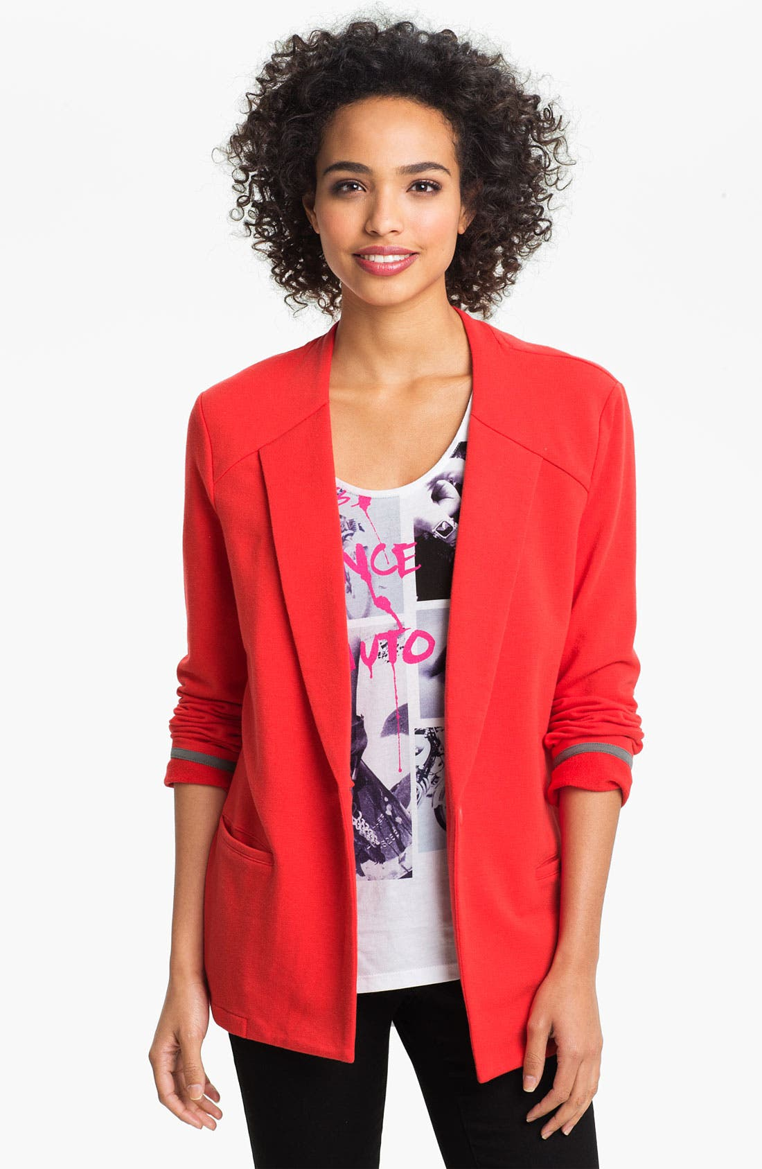 Alternate Image 1 Selected - Two by Vince Camuto One Button Blazer