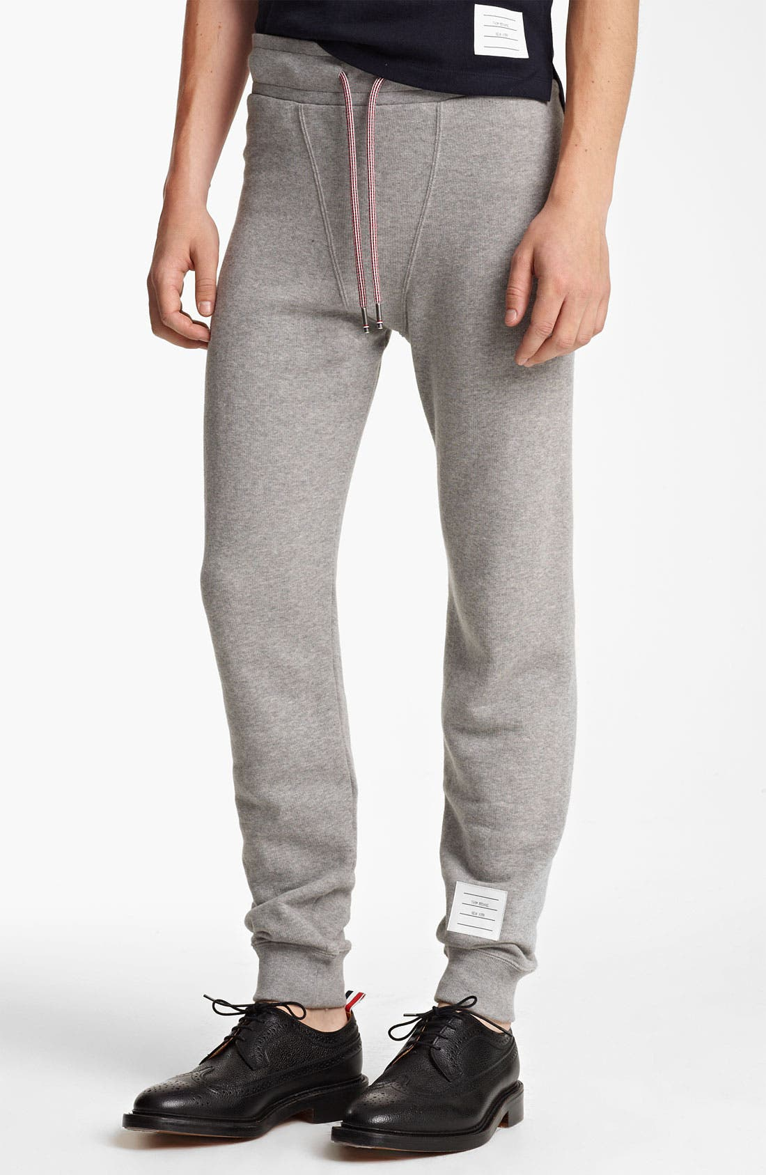 Main Image - Thom Browne Cotton Terry Sweatpants
