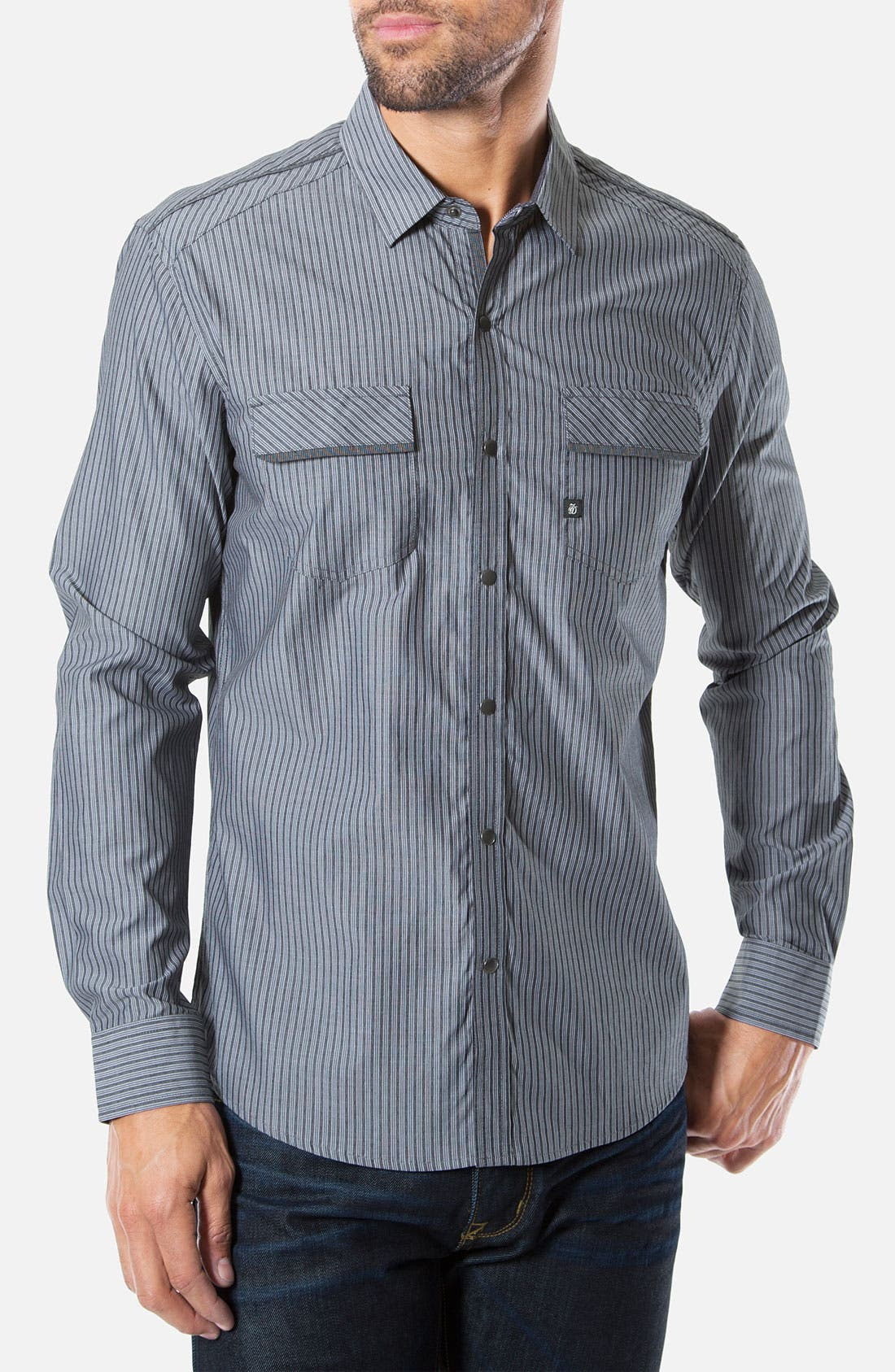 Alternate Image 1 Selected - 7 Diamonds 'Are You Mine' Woven Sport Shirt