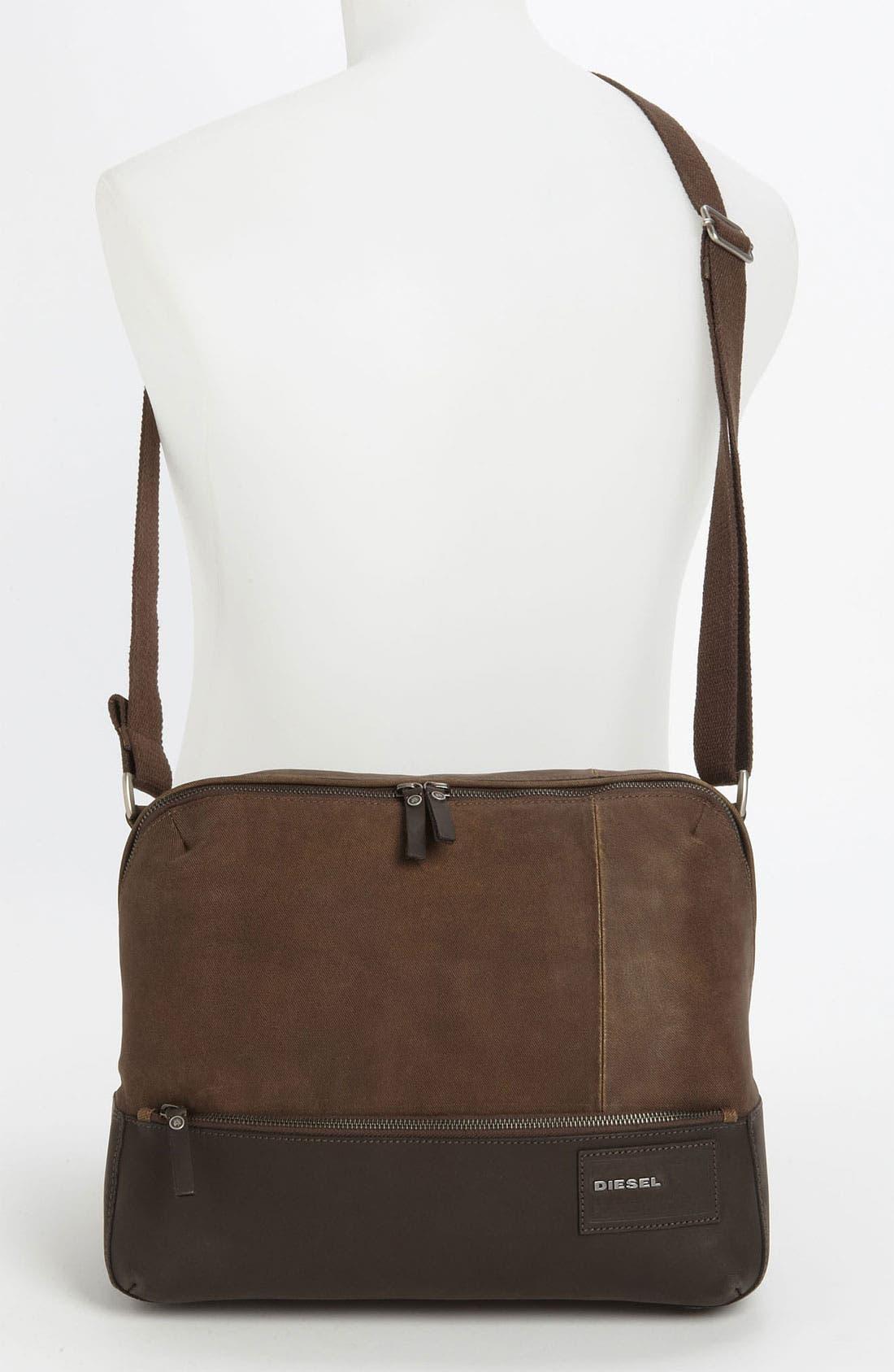 Alternate Image 4  - DIESEL® 'Mad Words - Pi Special' Messenger Bag