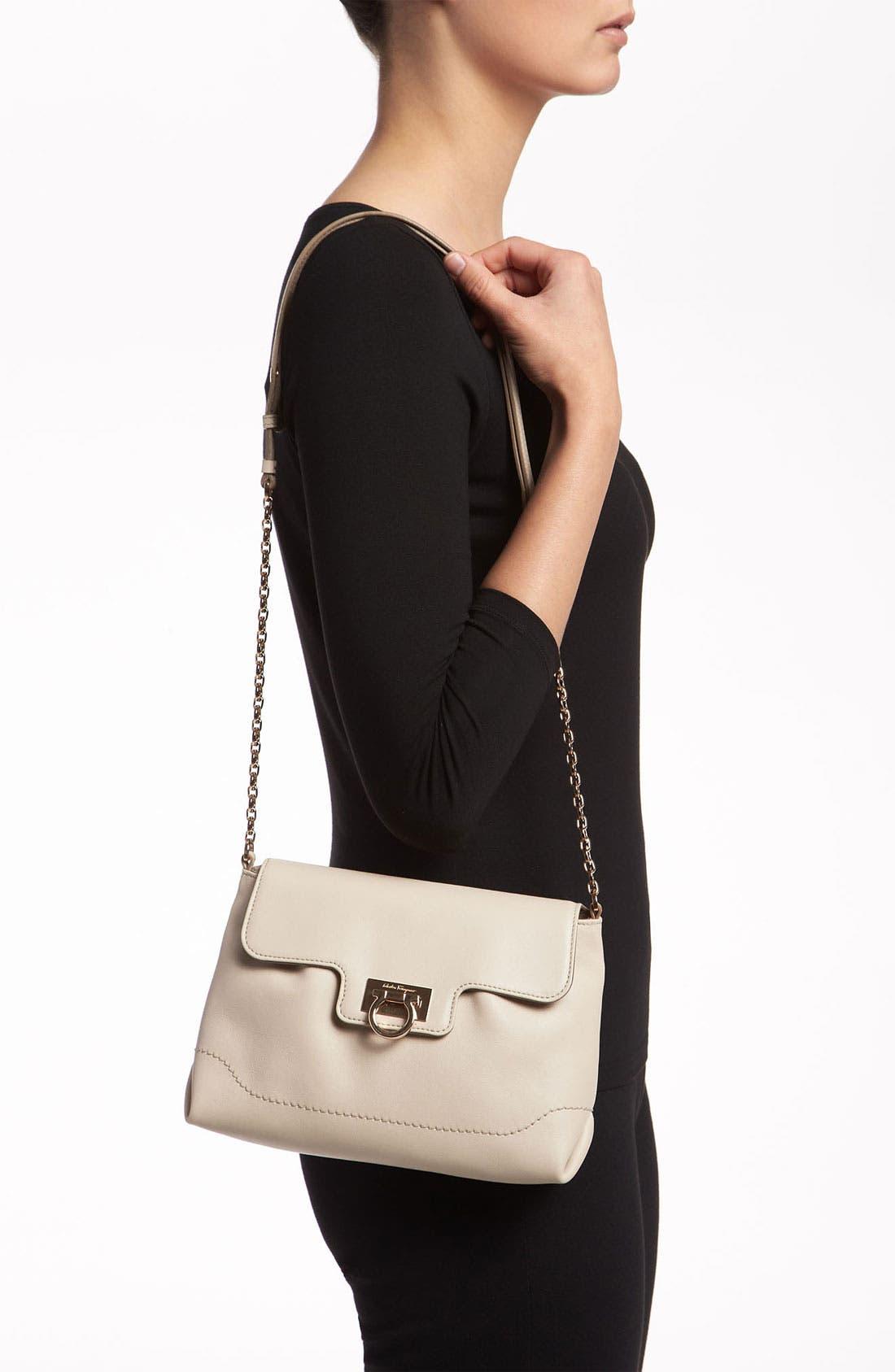 Alternate Image 2  - Salvatore Ferragamo 'Amelie' Leather Shoulder Bag