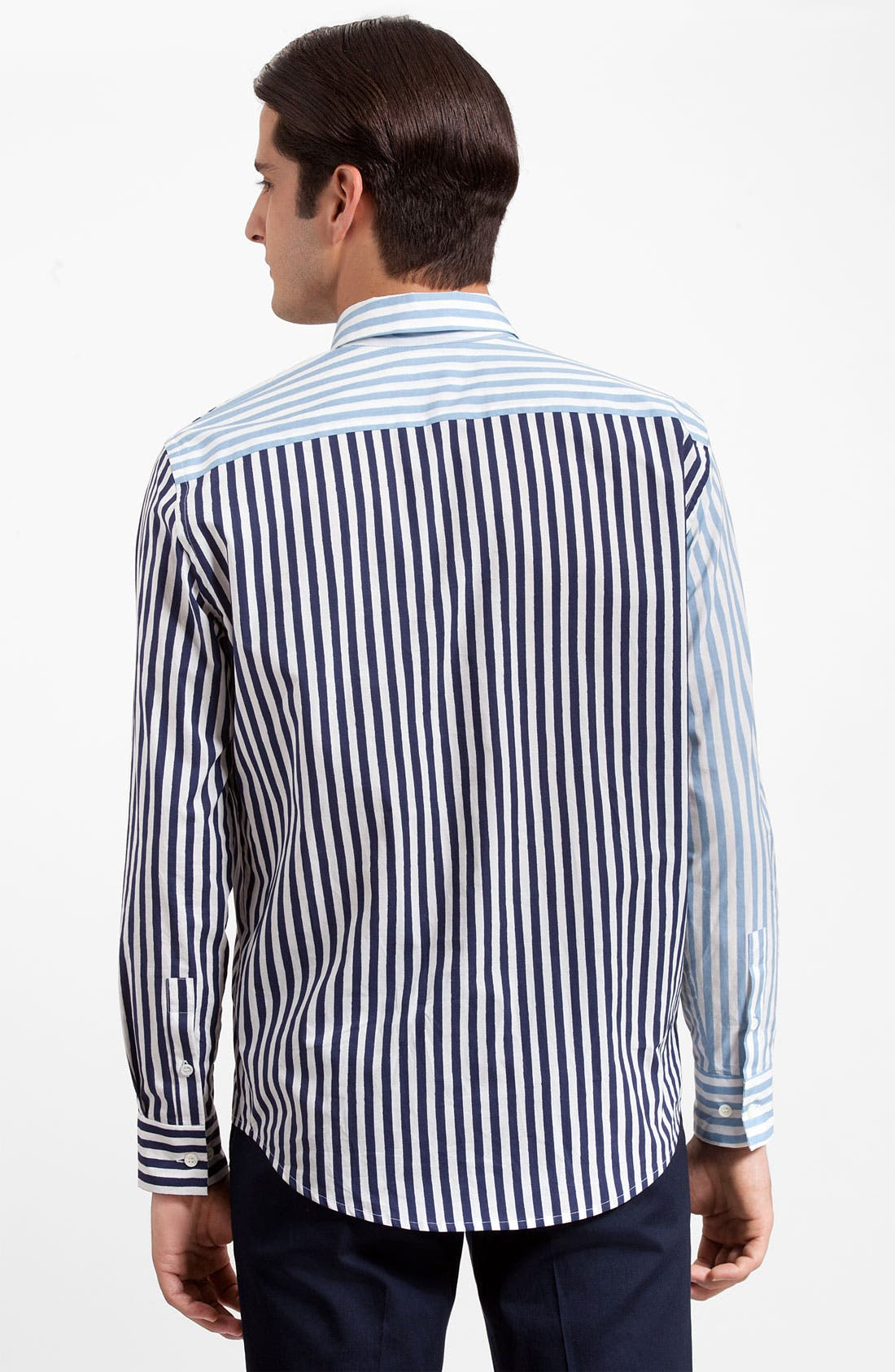 Alternate Image 2  - Marni Stripe Cotton Poplin Shirt
