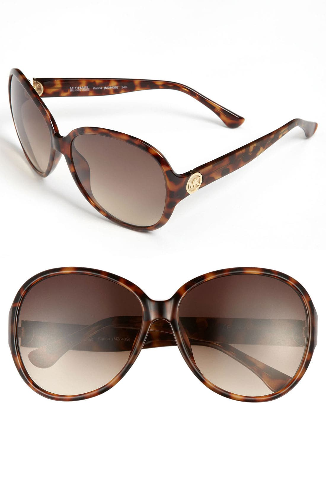 Alternate Image 1 Selected - MICHAEL Michael Kors 60mm Oversized Sunglasses
