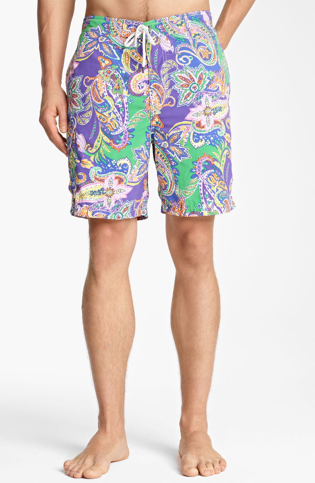 Alternate Image 1 Selected - Polo Ralph Lauren 'East Hampton' Swim Trunks