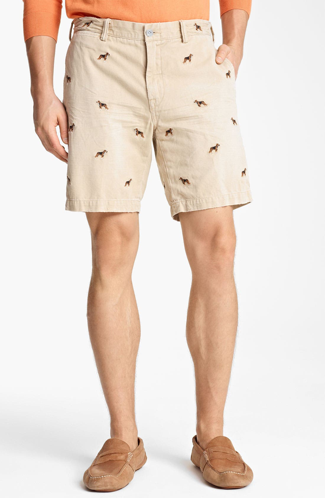 Main Image - Polo Ralph Lauren 'Maritime Beagle' Chino Shorts