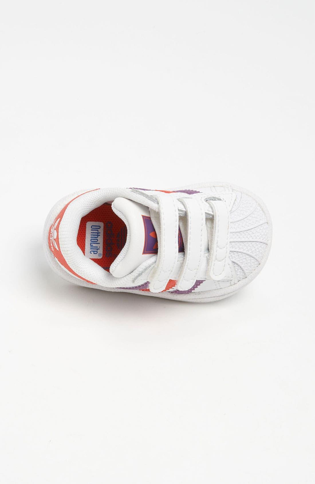 Alternate Image 3  - adidas 'Superstar 2' Sneaker (Baby, Walker & Toddler)