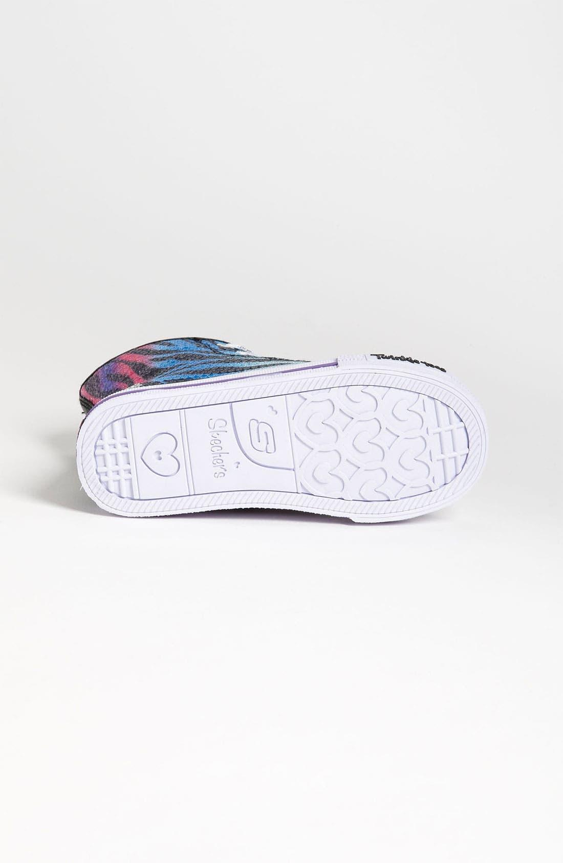 Alternate Image 4  - SKECHERS 'Shuffles - Notorious' Light Up Sneaker (Walker & Toddler)