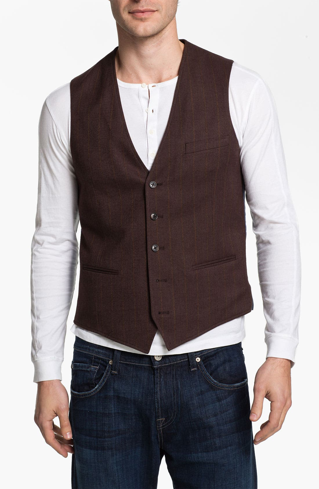 Alternate Image 1 Selected - 1901 Cotton Vest