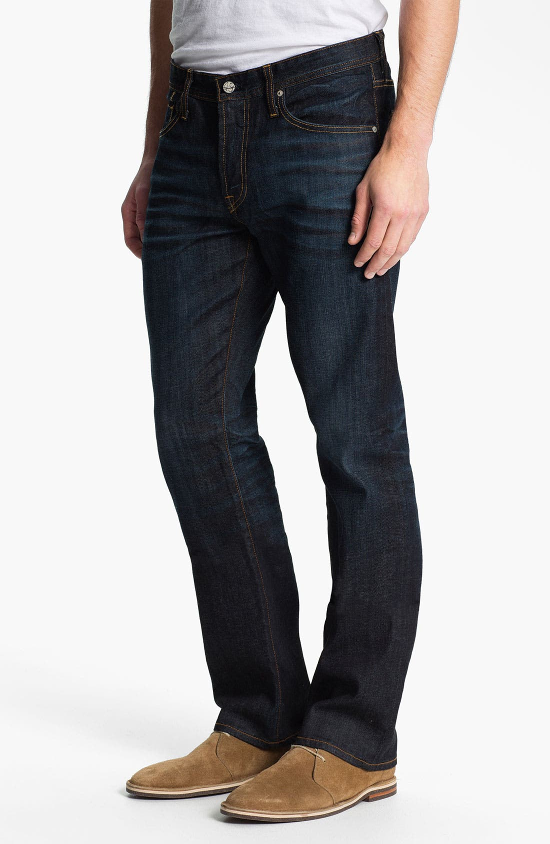 Alternate Image 1 Selected - AG Jeans 'Protégé' Straight Leg Jeans (Two Year Dusk)