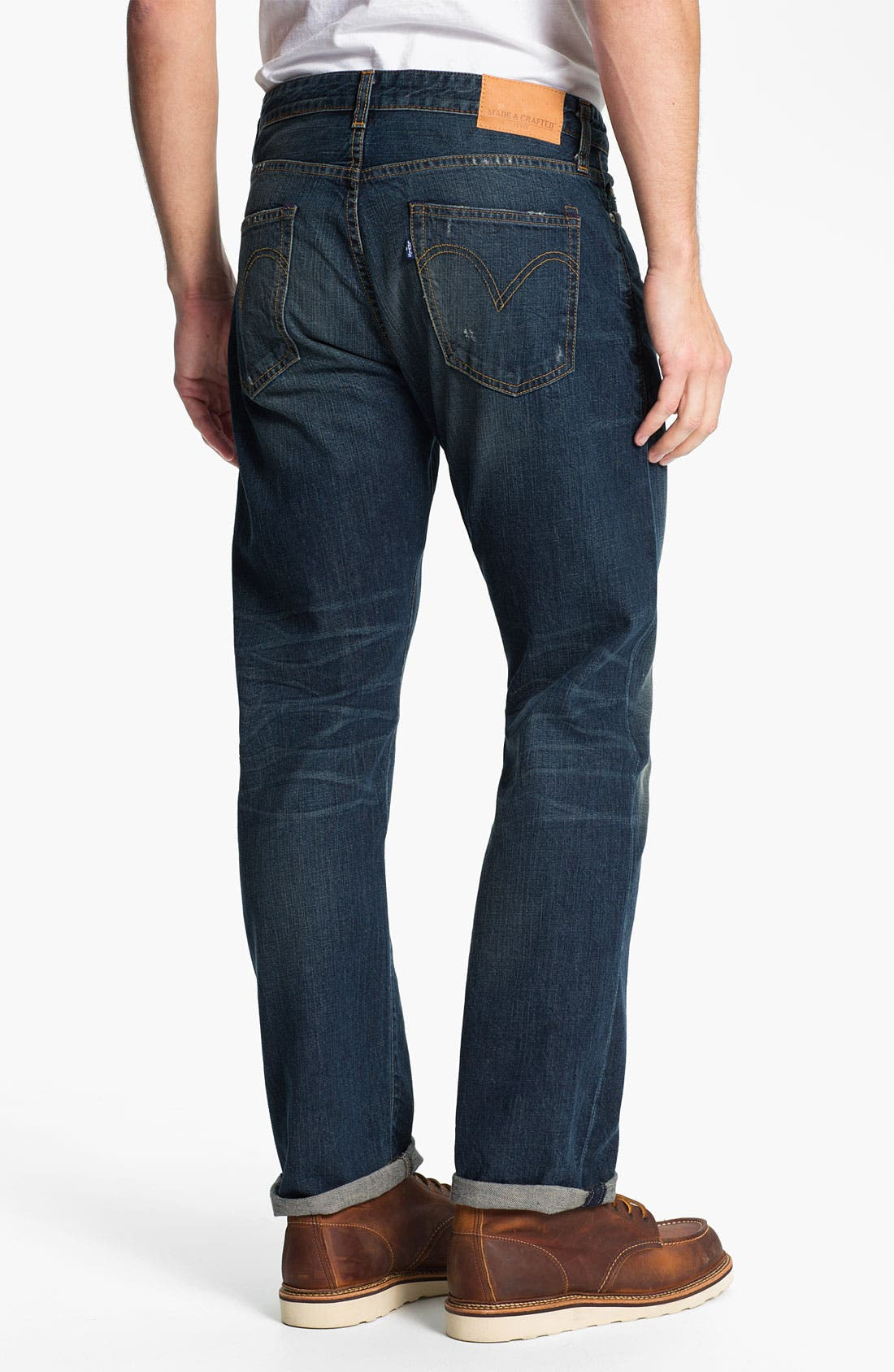 Alternate Image 2  - Levi's® Made & Crafted™ 'Cutter' Relaxed Straight Leg Jeans (Vernon)