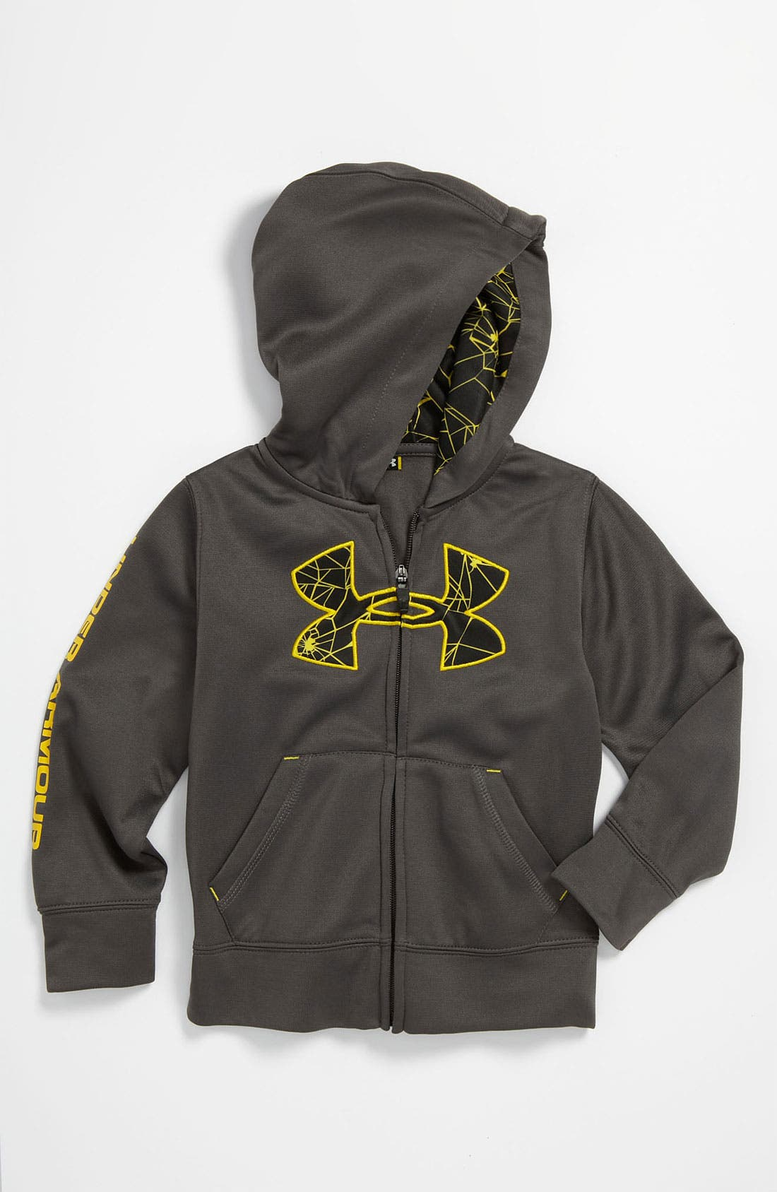 Alternate Image 1 Selected - Under Armour 'Web' Hoodie (Toddler)
