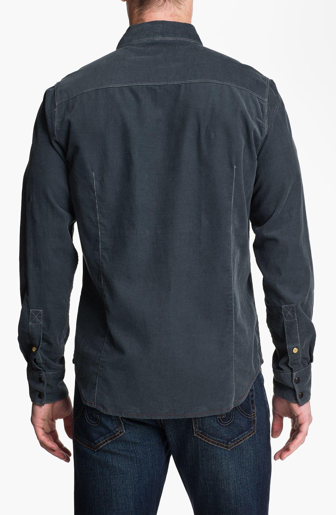 Alternate Image 3  - Jeremiah 'Peyton Mineral' Corduroy Sport Shirt