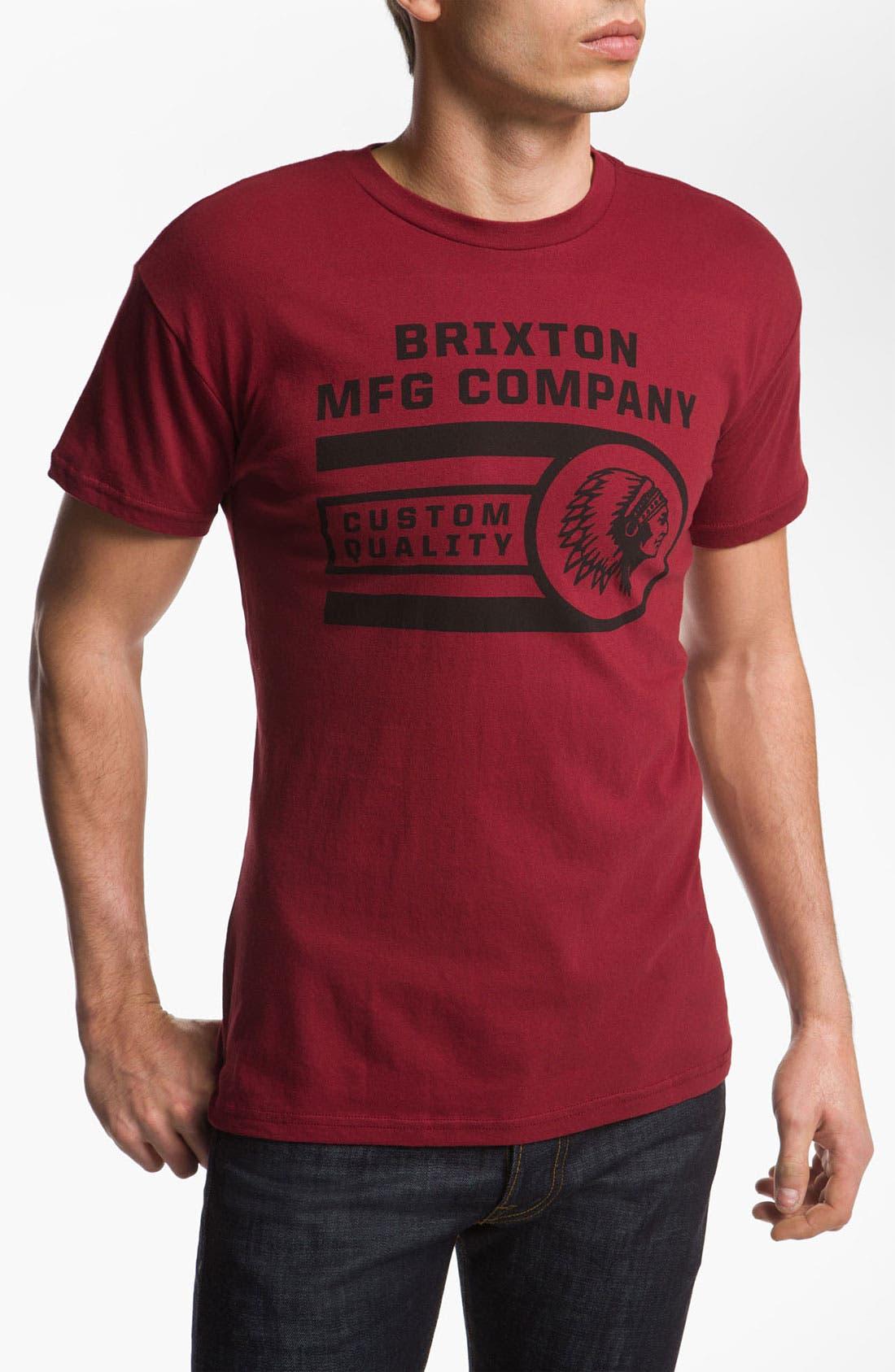 Alternate Image 1 Selected - Brixton 'Flathead' T-Shirt
