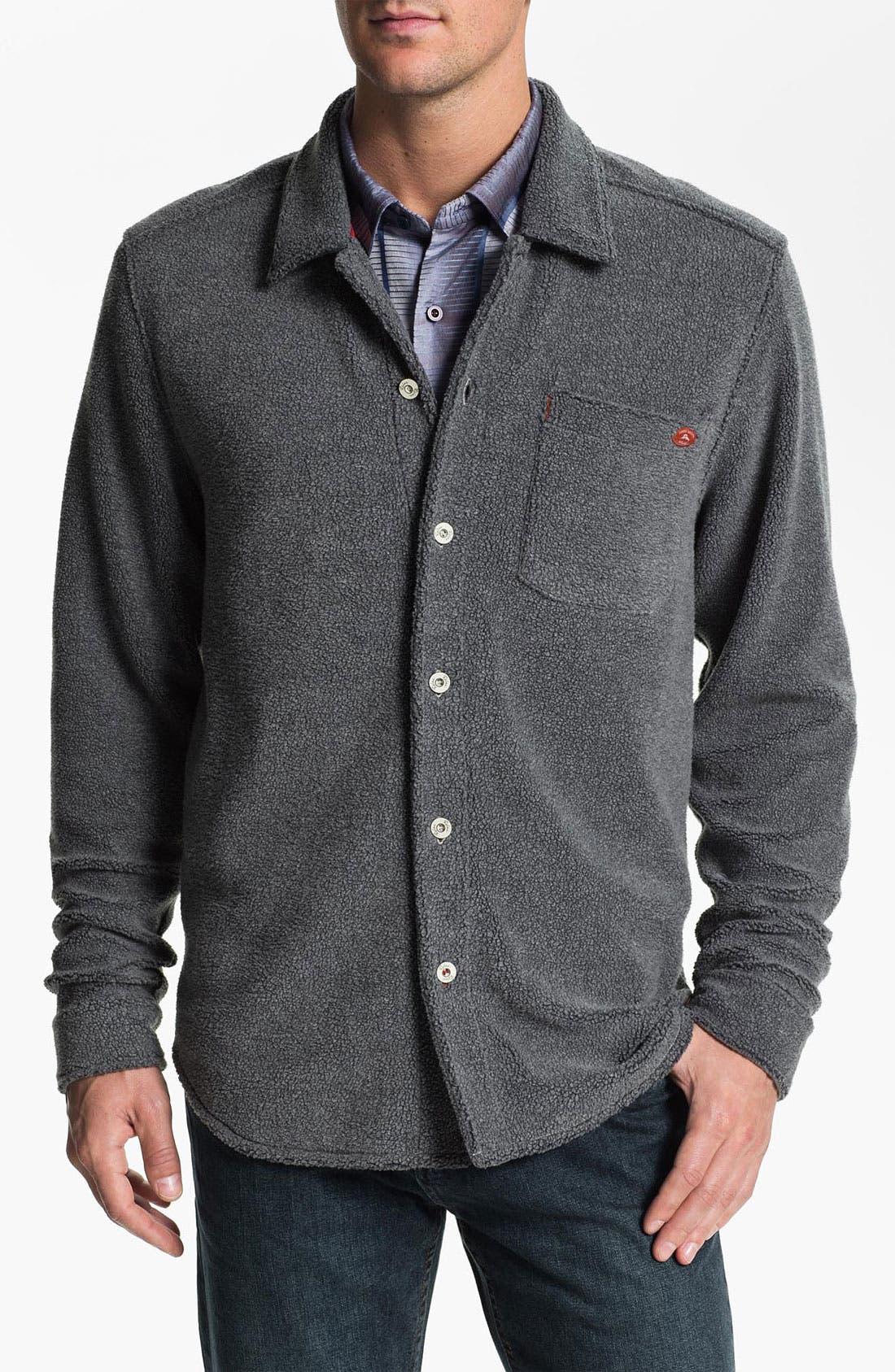 Alternate Image 1 Selected - Tommy Bahama 'Island Fleece CPO' Shirt Jacket