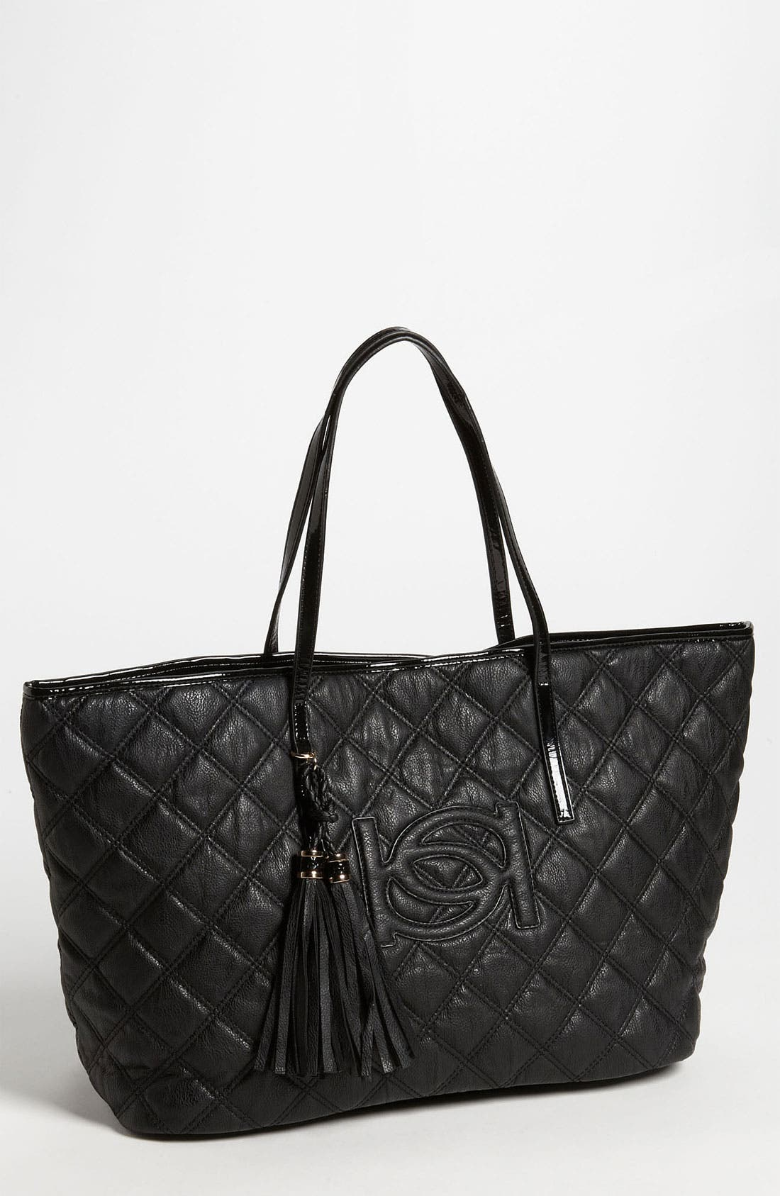 Alternate Image 1 Selected - bebe 'Lisa' Quilted Tote