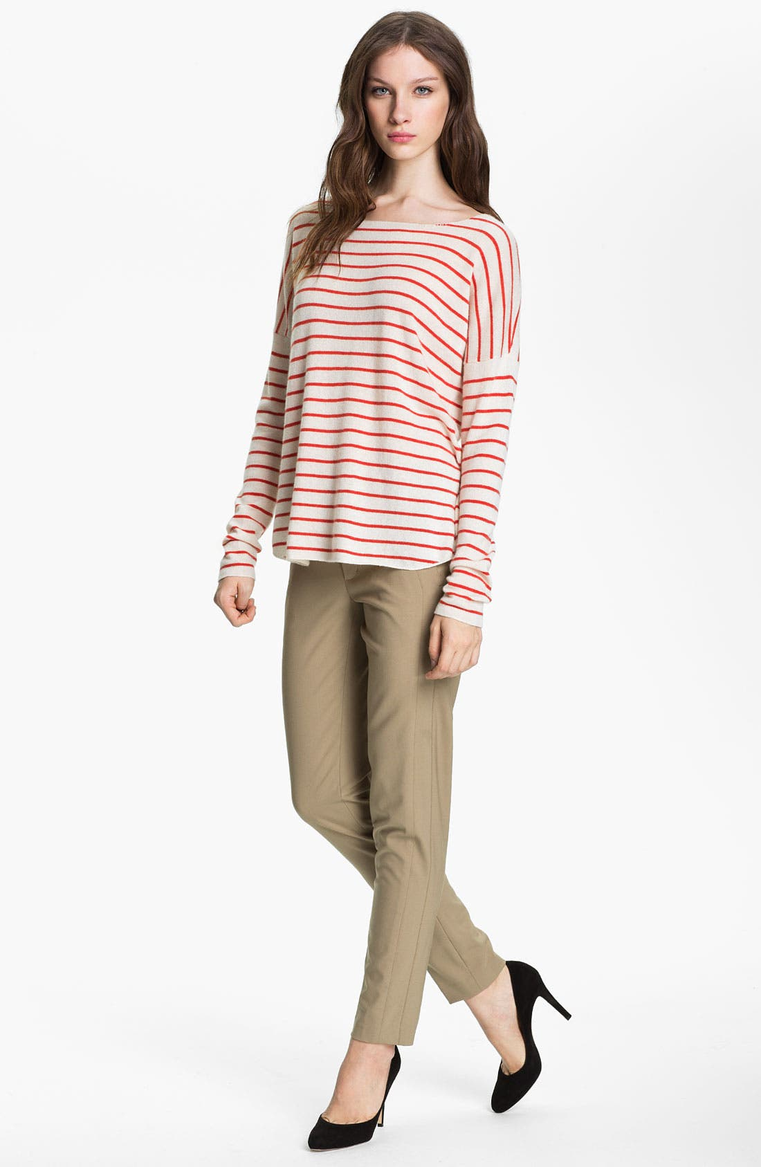 Alternate Image 1 Selected - Vince Stripe Cashmere Sweater