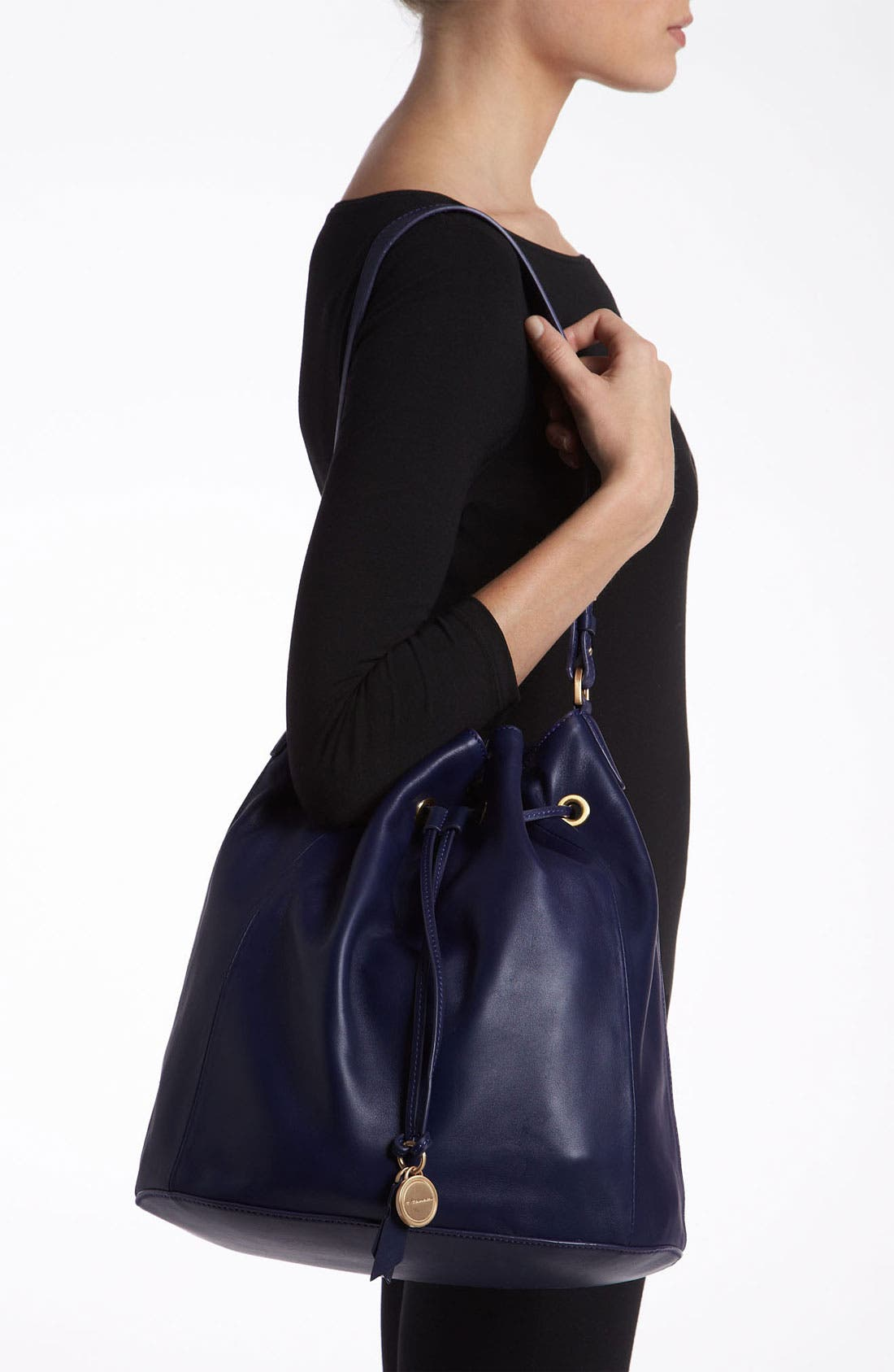 Alternate Image 2  - T Tahari 'Lily' Drawstring Shoulder Bag