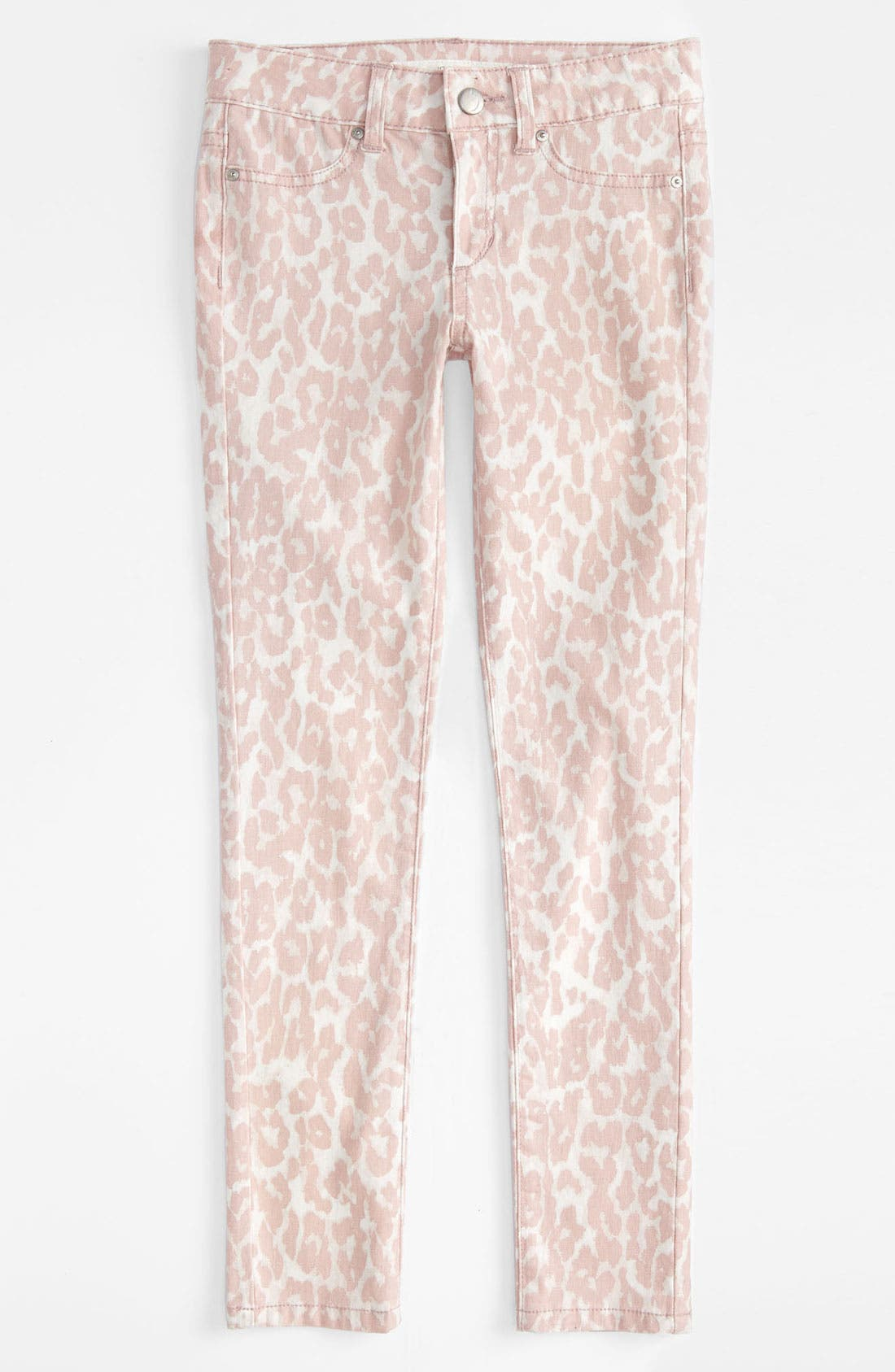 Alternate Image 2  - Joe's Printed Ultra Slim Fit Denim Leggings (Big Girls)
