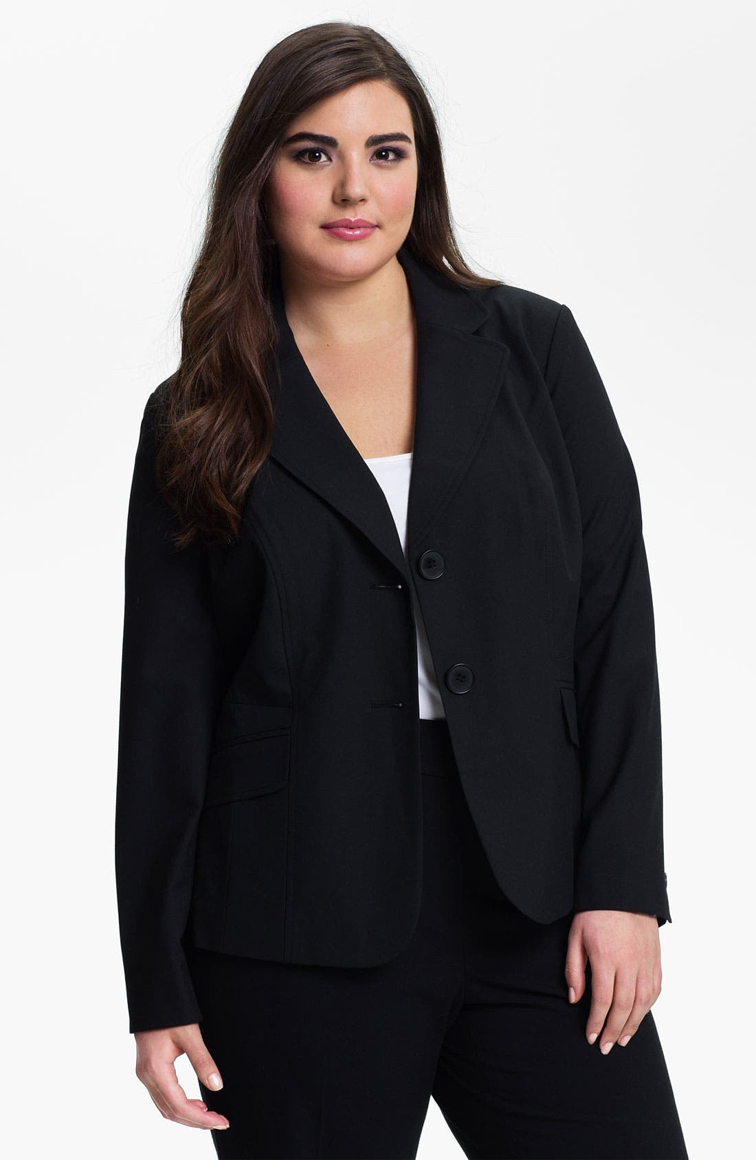 Alternate Image 1 Selected - Sejour 'Ela' Blazer (Plus Size)