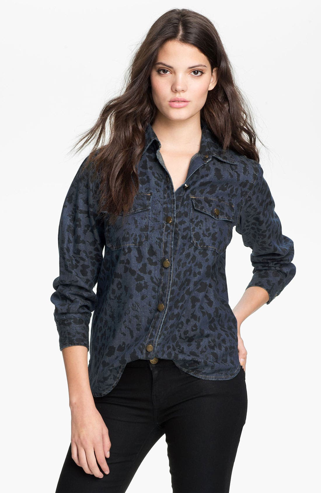 Main Image - Current/Elliott 'The Perfect' Denim Shirt