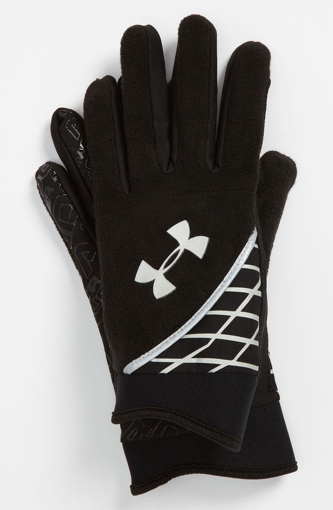Main Image - Under Armour ColdGear® Fleece Gloves