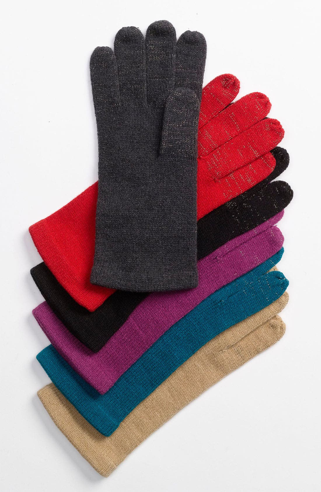 Alternate Image 1 Selected - Echo 'Touch Warmers' Knit Gloves