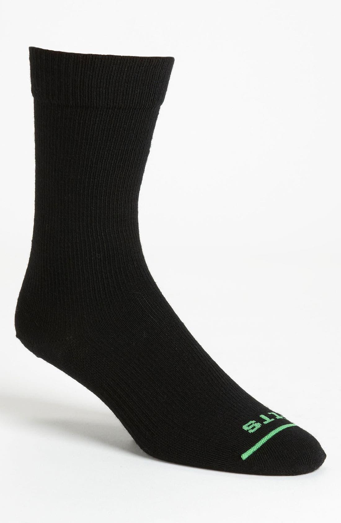 Alternate Image 1 Selected - FITS Sock Co. 'Liner' Crew Socks (Online Only)