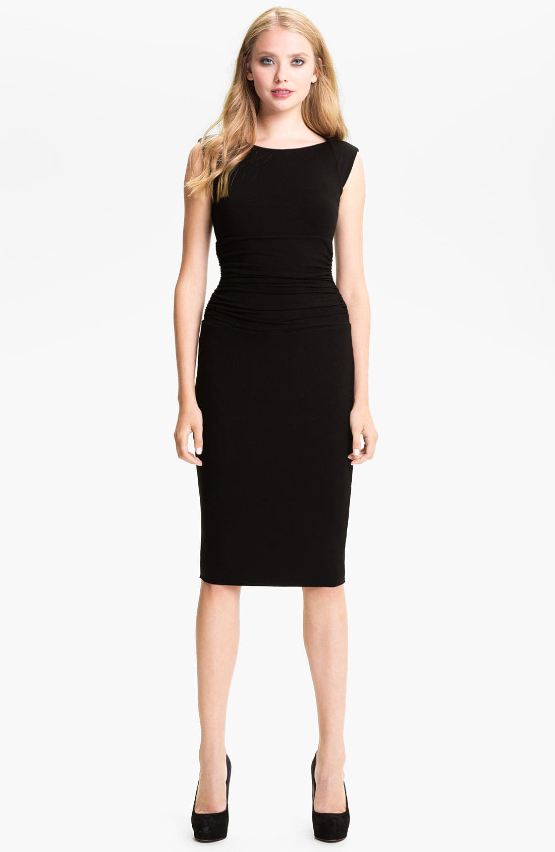Alternate Image 3  - B44 Dressed by Bailey 44 Ruched Cap Sleeve Sheath Dress