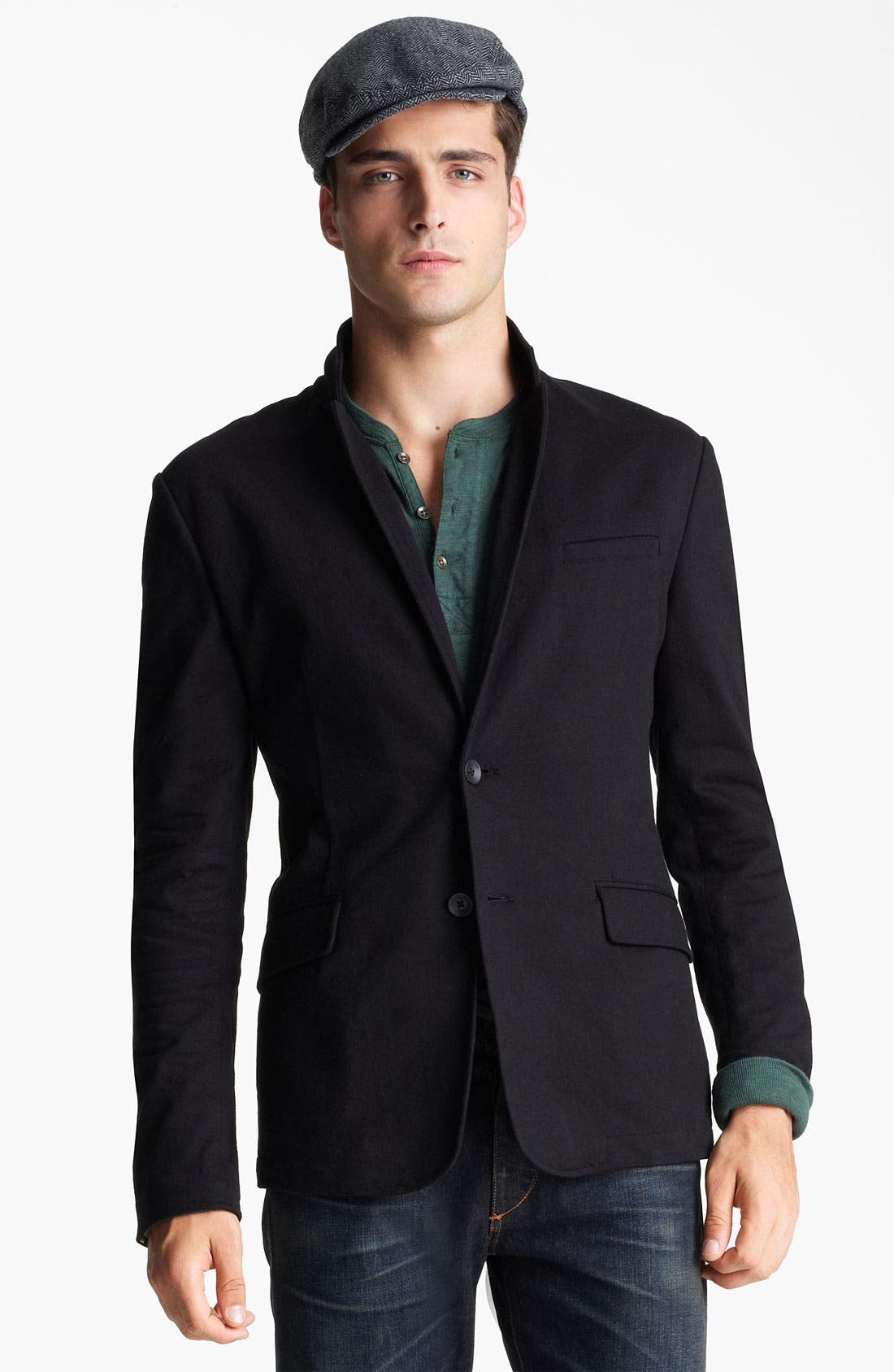 Main Image - rag & bone 'Phillips' Cotton Blazer