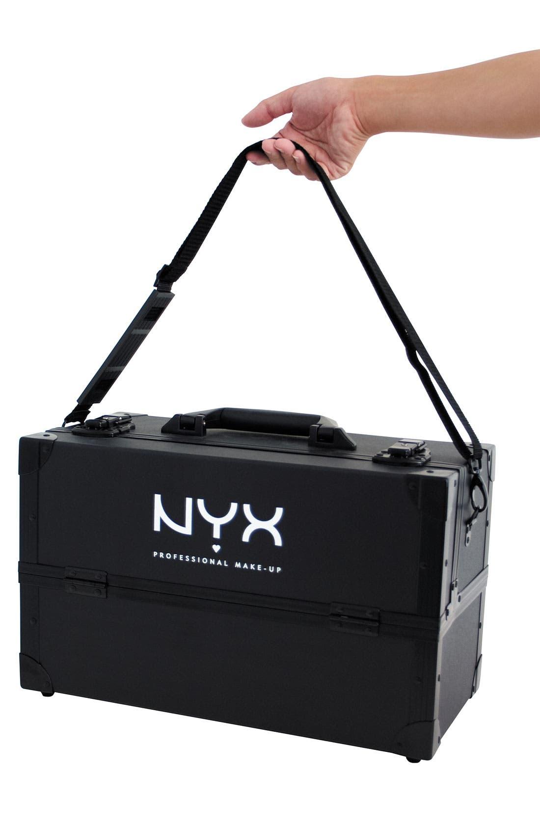 Alternate Image 2  - NYX Cosmetics Train Case