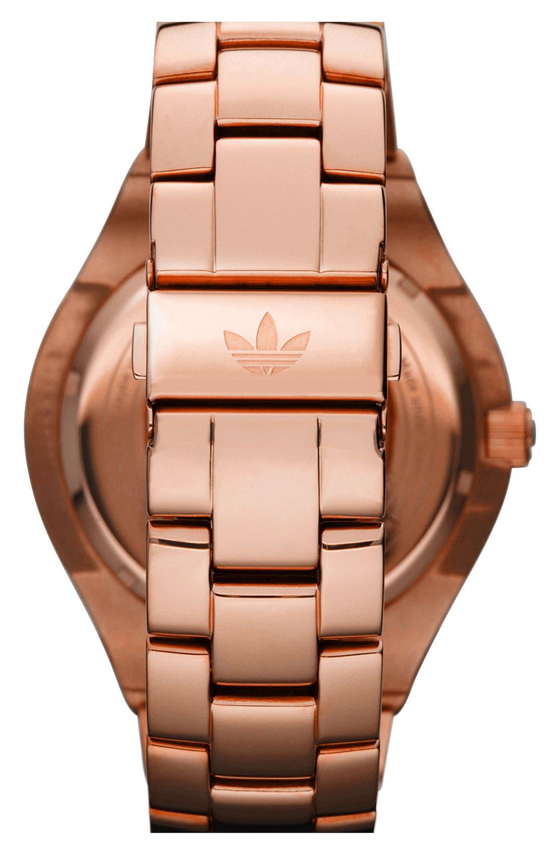 Alternate Image 3  - adidas Originals 'Melbourne' Pavé Crystal Watch, 50mm
