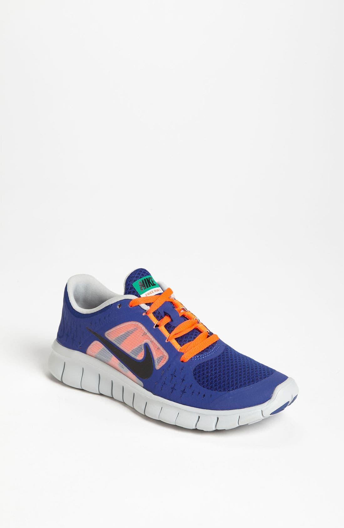 Alternate Image 1 Selected - Nike 'Free Run 3' Running Shoe (Big Kid)