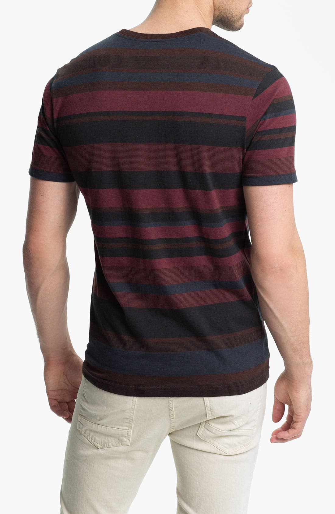 Alternate Image 2  - RVCA 'Adirondack' Short Sleeve Jersey T-Shirt